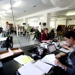 le plus grand espace de travail coworking d'europe à Berlin