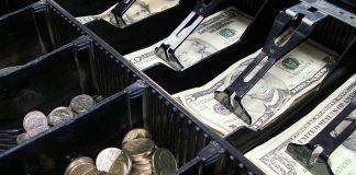 monnaie caisse enregistreuse
