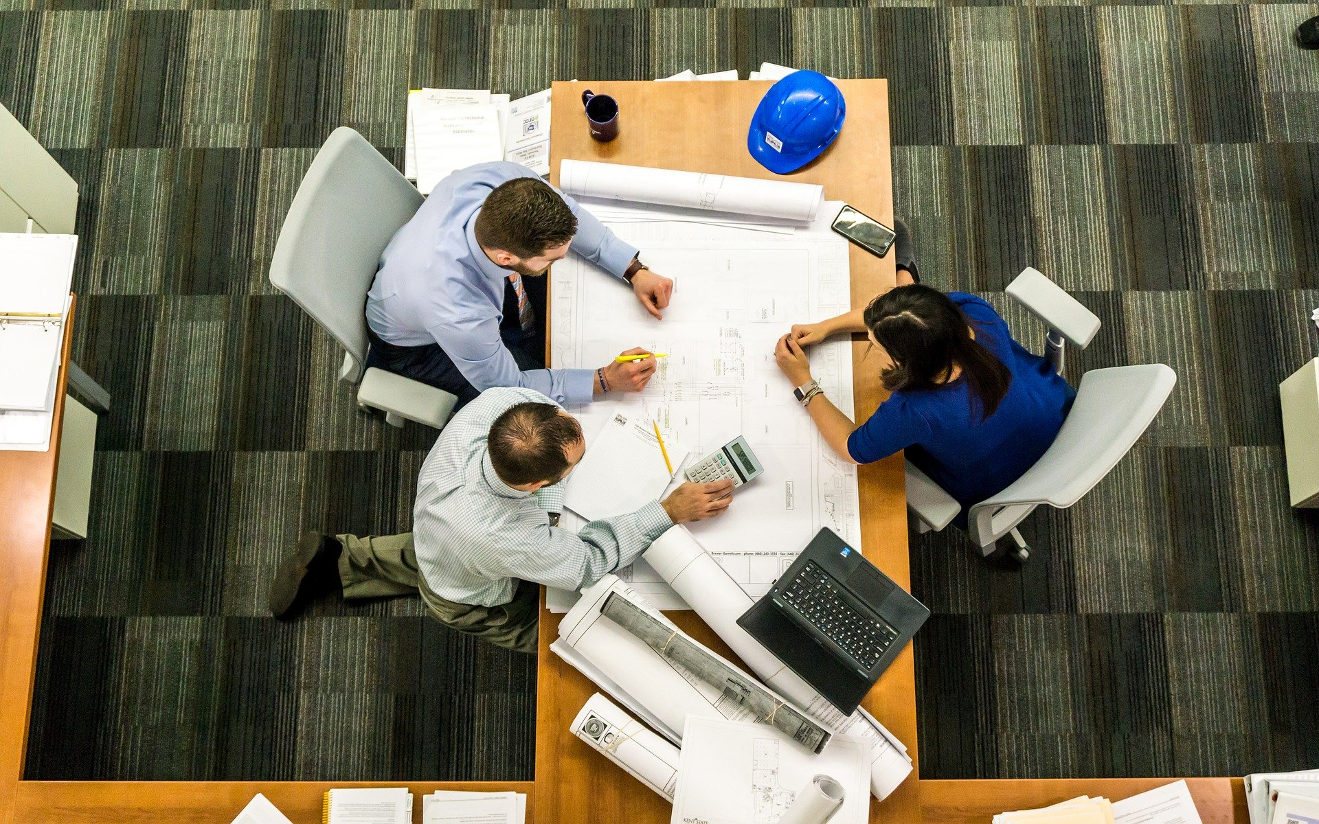 Réunion entreprise, gestion de projet