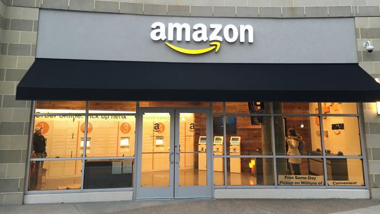 magasin Amazon Books