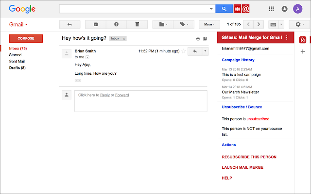 solution mail google