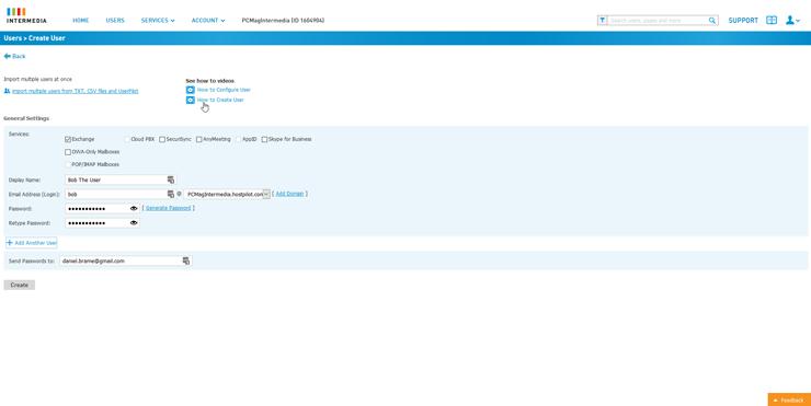 intermedia email pro