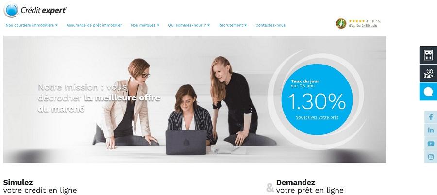 nouveau site crédit expert