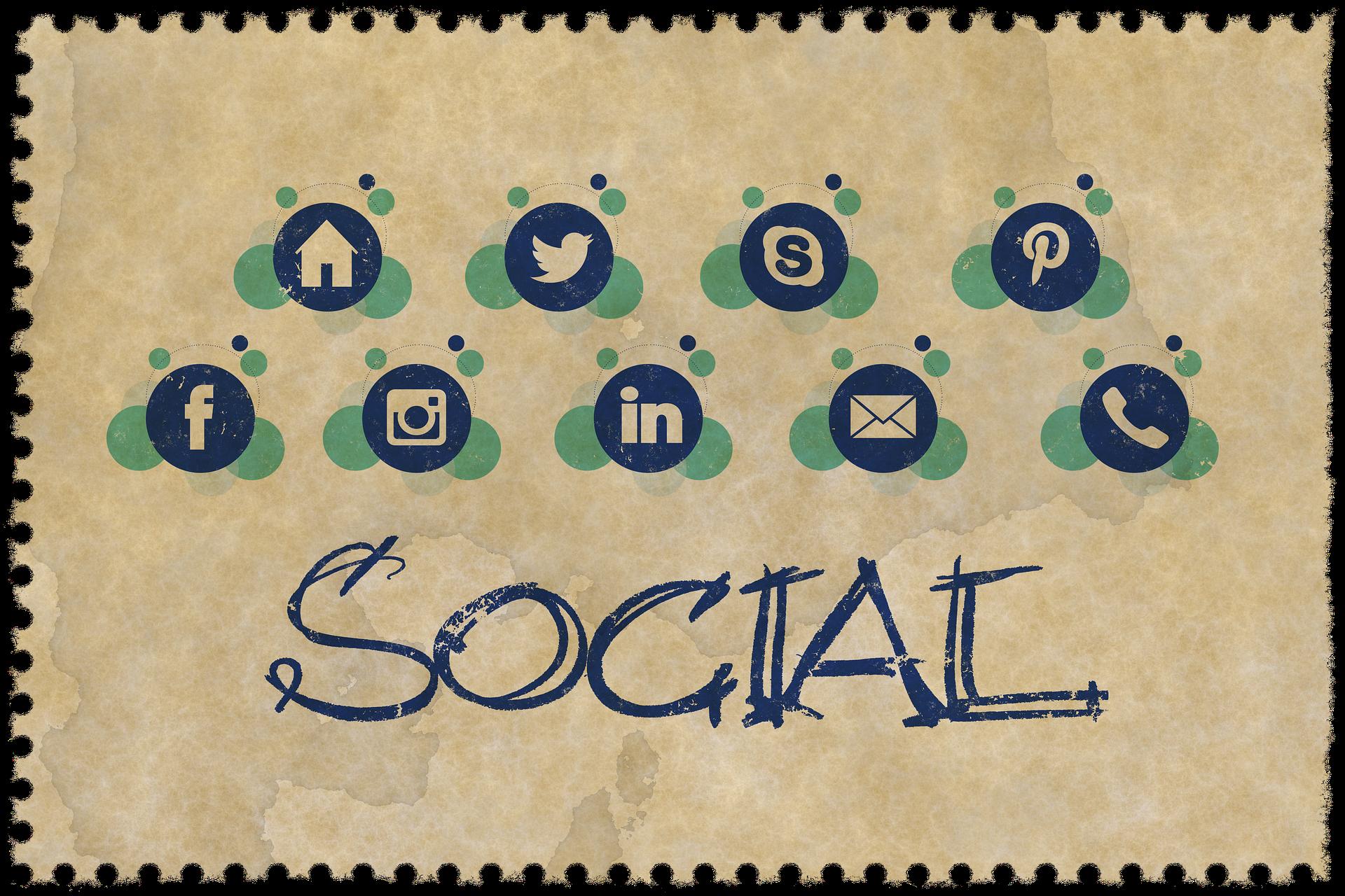icone média sociaux