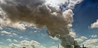 pollution dans le ciel